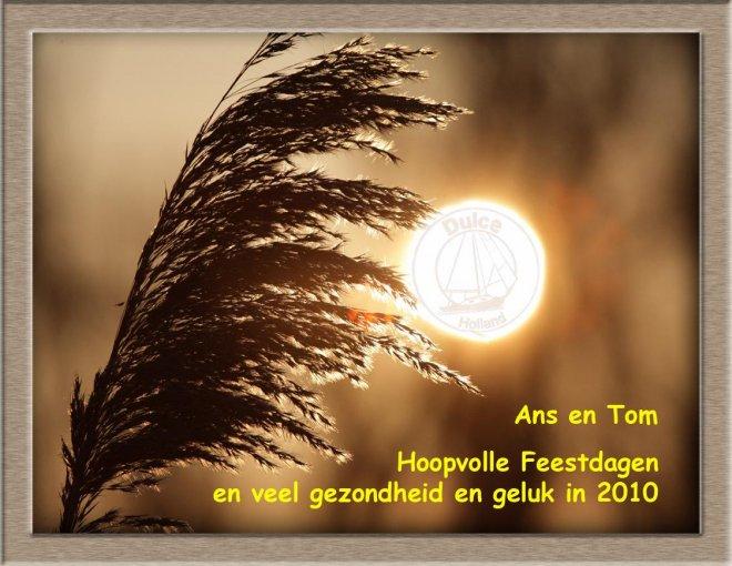 De traditionele jaarlijkse nieuwjaarswens van Wim van Heel