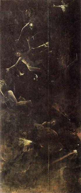 Een paneel van de triptiek Het Laatste Oordeel, Jeroen Bosch