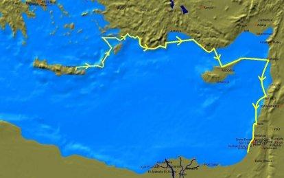 8. Van Kreta naar de Levant