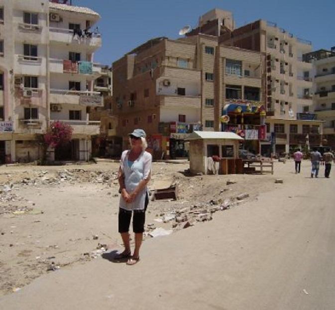 Het smerige stadsdeel Sigala, Hurghada