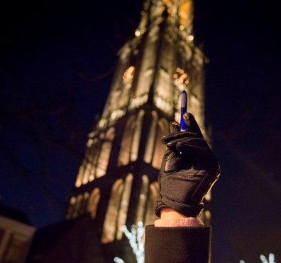 Utrecht, Domplein, 8 januari 2015