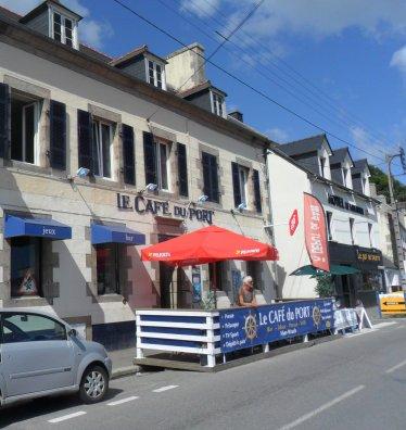 Le Café du Port, l'Aber Wrac'h.