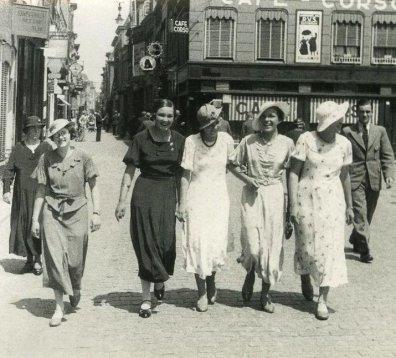 Flaneren op het Eind in de jaren 30