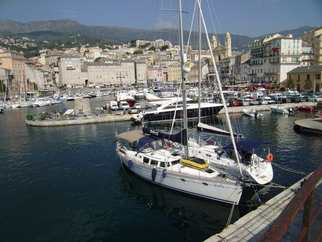 Dulce in de Vieux Port van Bastia